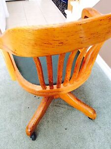Antique Desk Chair made in 1957