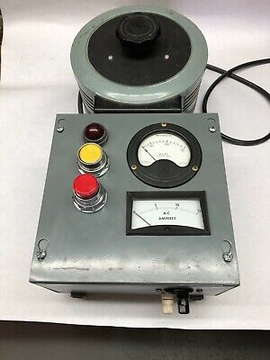 Ac Power Supply Adjustable 15a Max 0-140v Out Soft Start Full Metering