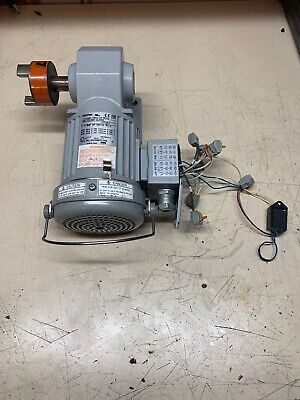Brother 3-phase Gear Motor 18 Hp 801 Ratio Right Angle Drive - H2l22l080-bjh4a