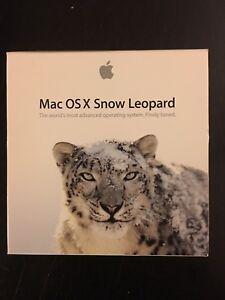 Mac snow leopard OS X - install DVD software