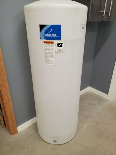 BRAND NEW Ace Roto-Mold 105 Gallon Vertical Plastic Storage Tank