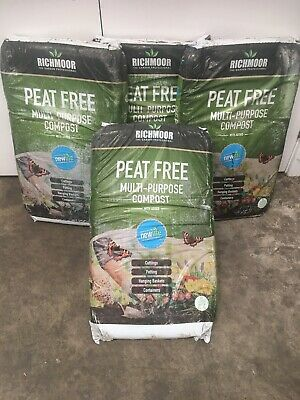 4 X Multi Purpose Compost Peat Free CHEAP Bigger 4 X 40 Litres Bag