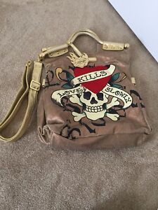 Pre-owned ed hardy bag (price negotiable)
