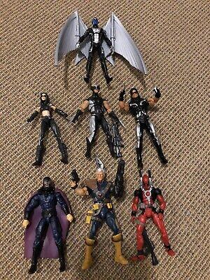 "Marvel Universe 3.75"" X-Force Archangel Wolverine X23 Cable Deadpool Warpath"