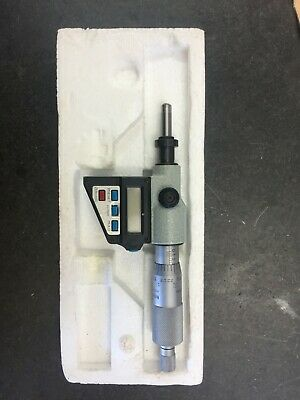 Mitutoyo No. 350-714 Digimatic Digital Depth Micrometer 0-1 0.00005