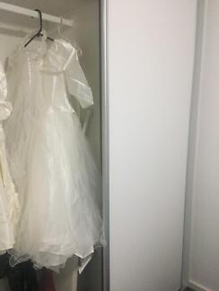 1st Communion dress inc veil.! Exc cond