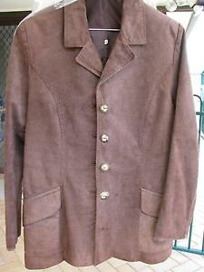 Womens Leather Jkt perfect condition  BROWN Size 8 Edensor Park Fairfield Area Preview