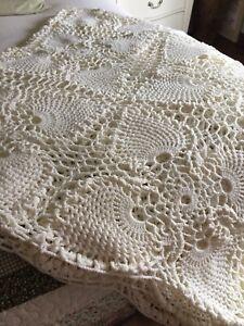 Crochet Queen blanket