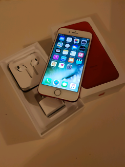 iPhone 7 128gb Premium Red Execllent Condition 1 Month Old