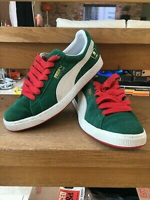 PUMA MEXICO 1968 - GREEN - UK 8.5 - EXCELLENT CONDITION