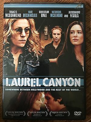 Laurel Canyon DVD 2002 Drama with Christian Bale and Kate Beckinsale Region 1