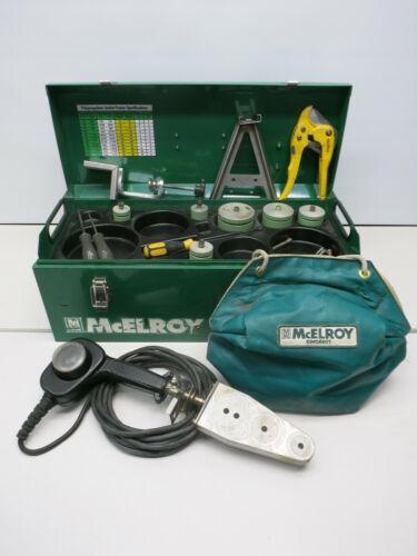 McElroy Socket Fusion Plastic Welder Aquatherm Kit