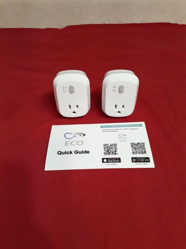 (2) ECO Plugs Smart WiFi plug E211835