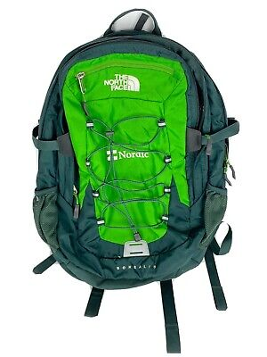 The North Face Borealis Classic Backpack Green Gray Rare Laptop