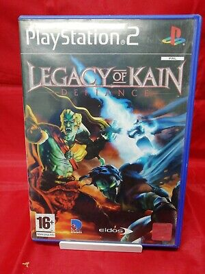 Legacy of Kain: Defiance (Sony PlayStation 2, 2003)complete with manual.