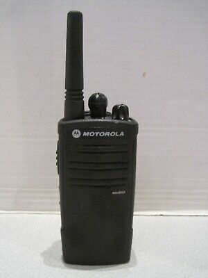 Motorola Rdu2023 Uhf 2ch Two Way Radio Ru2023bkf2aa Wbattery