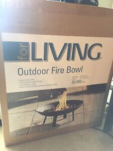 Outdoor propane Fire Bowl $85