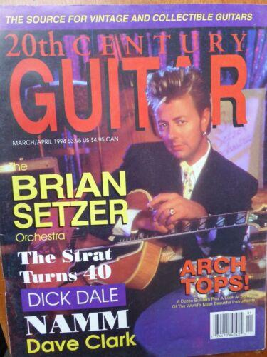 2oth Century Guitar Magazine - March/April 1994
