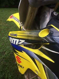 2008 rmz 250 with ownership
