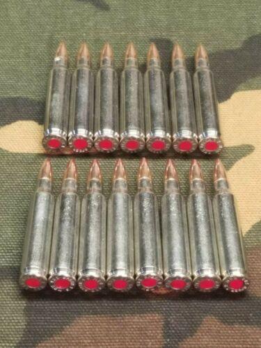 223/5.56 SNAP CAPS SET OF 15 (Nickel+ Red)