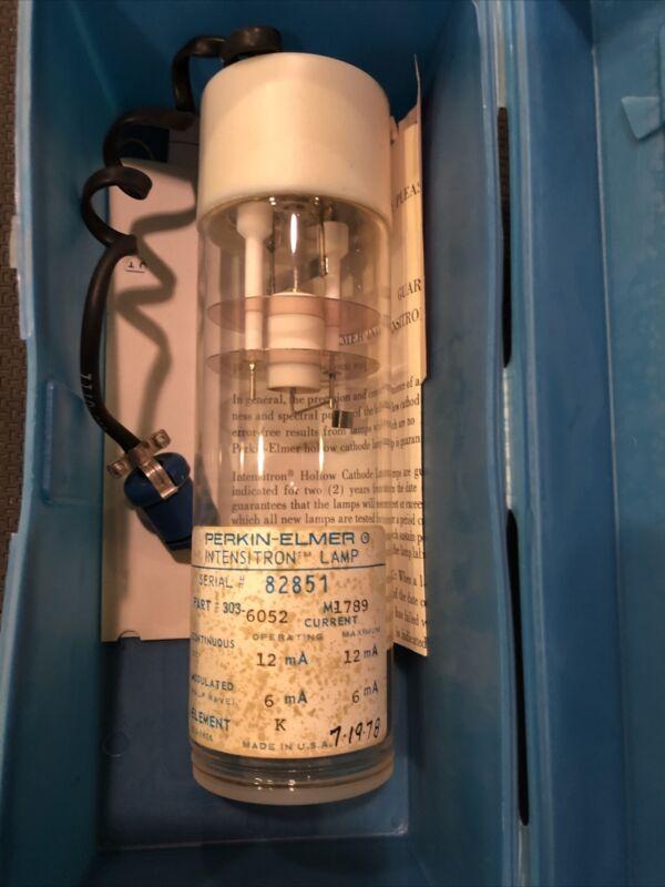 Perkin-Elmer Intensitron Lamp #303-6052