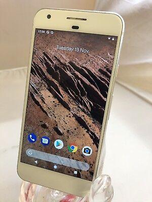 Google Pixel  - 32GB - Very Silver - Unlocked - Smartphone - Grade B - Warranty