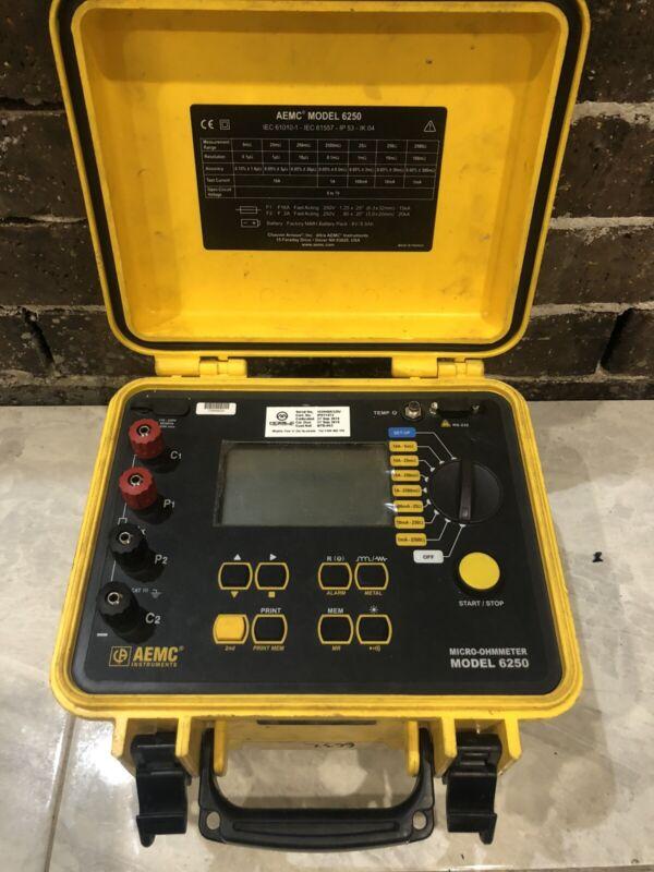 AEMC Instruments 6250 Micro-Ohmmeter