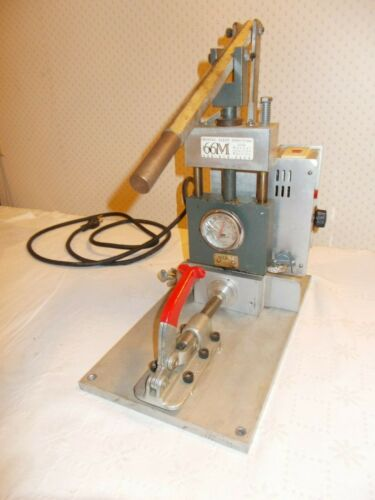 Crystal Alloy Manual Injection Molder Benchtop Plastic 2/3 oz. Injector w/Extras