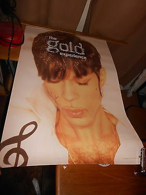 """Prince POSTER The Gold Experience 24"""" x 36"""" 1995"""