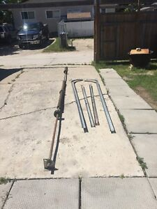 16x7ft garage spring and its hardware