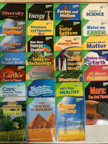Pearson Science Leveled Readers Below/On/Above Level Grade 5 - 1 of Each Title