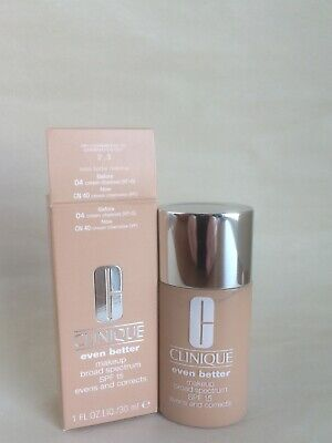 Clinique Even Better Makeup 04 VF-G CN 40 Cream Chamois (VF) 1oz SPF