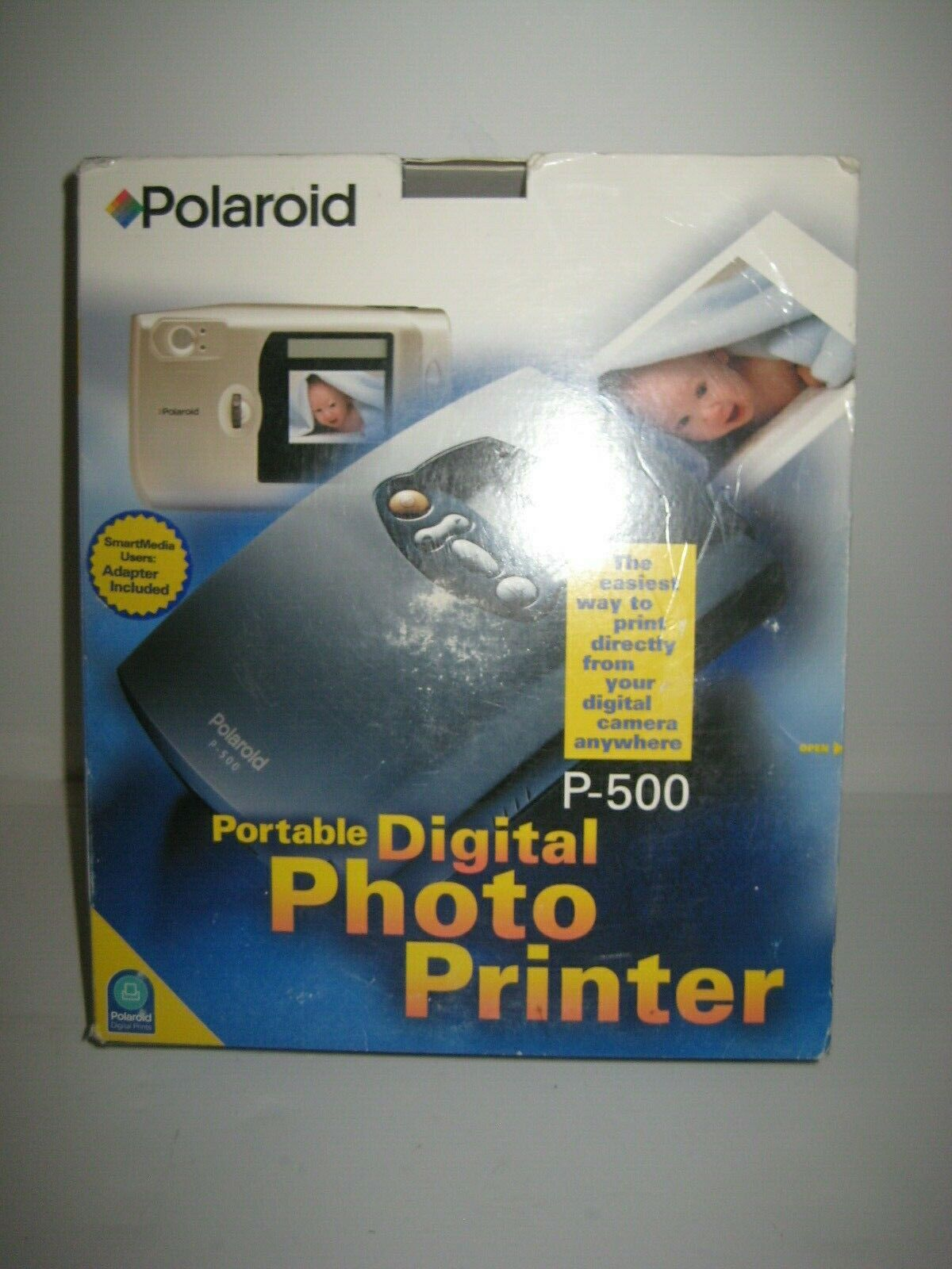 portable p 500 mobile digital photo printer