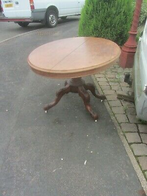 MAHOGANY TIP UP TABLE FOR RESTORATION OR SPARES