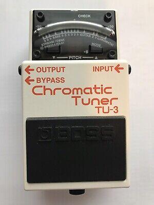 Boss TU-3 Chromatic Tuner Guitar Effect Pedal - BRAND NEW