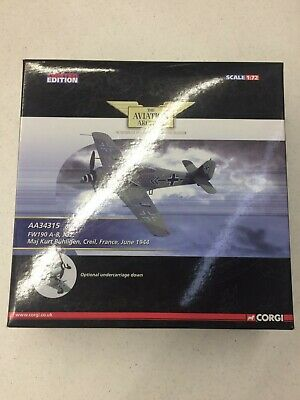 Corgi Aviation Archive Collector Series AA34315 Focke-Wulf Fw 190A Diecast Model