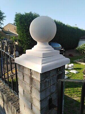 Pier / pillar / Gate post cap and ball finial