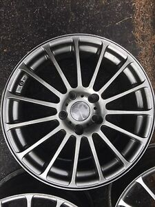 For sale Set of 4 Mags - Bridgestone Japan 5x114.3 Wheel Alloys