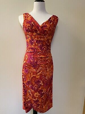 Ralph Lauren Dress Orangesizr 6