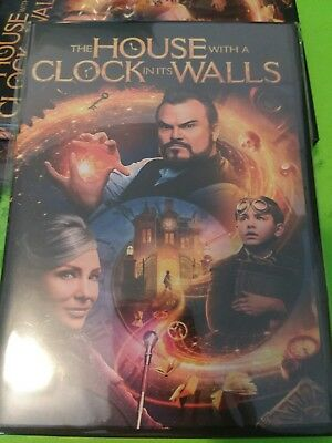 The House with a Clock in Its Walls (2018,DVD) Brand New