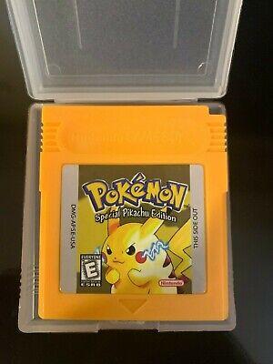 Pokemon Yellow (Game Boy Color)