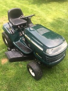 17 1/2 hp craftsman riding lawn mower