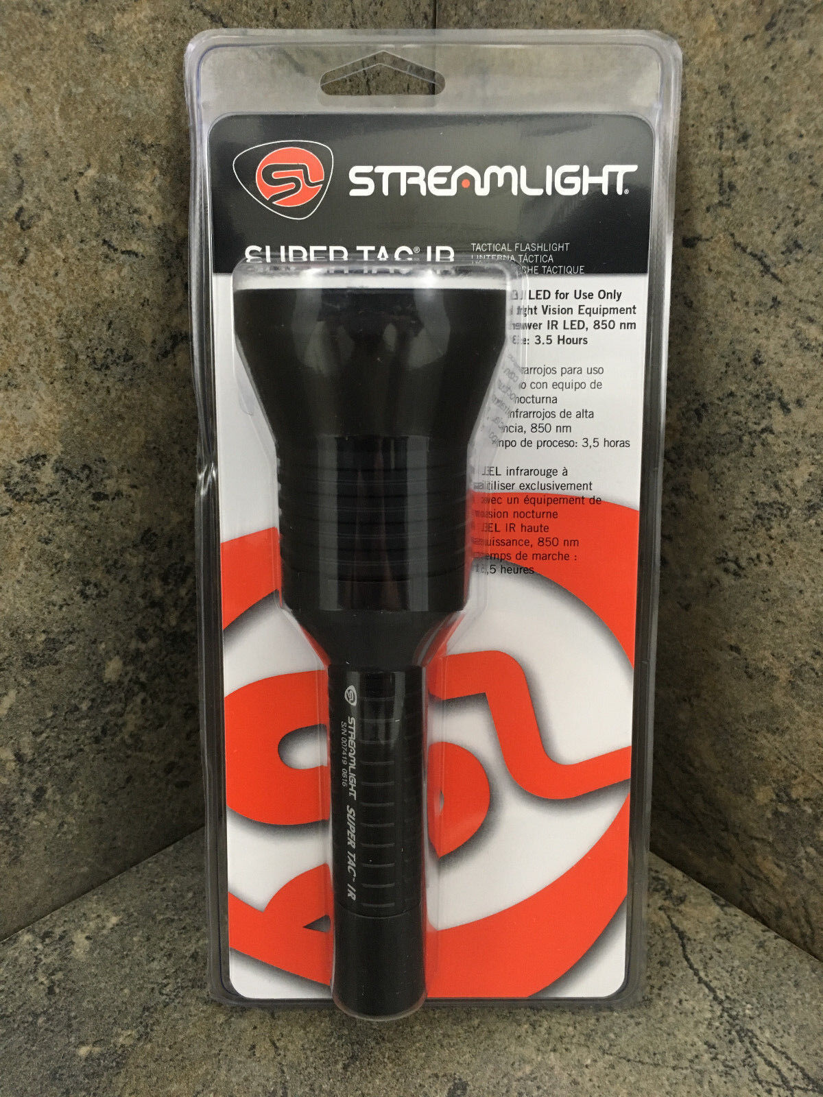 Streamlight 88704 Super TAC IR Long Range Infrared Active Il