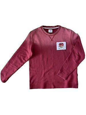 Kent & Curwen Rose faded red sweatshirt XXL