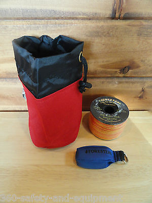 Arborist Tree Workers Throw Line Kit Rope Bag 1-9oz Bag And 166 Of Throw Line