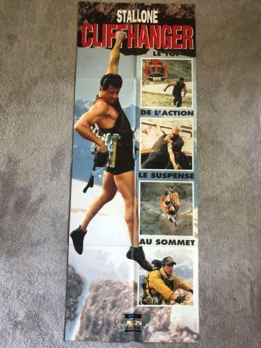 cliffhanger poster original sylvester stallone door france poster pannel (rambo