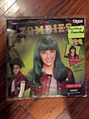Disney Zombies Eliza Child Wig Costume - Zombie Wig