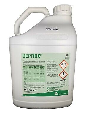 DEPITOX 10L SELECTIVE WEED KILLER - GREAT AT CONTROLLING RAGWORT