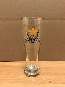Sapporo Beer Glass