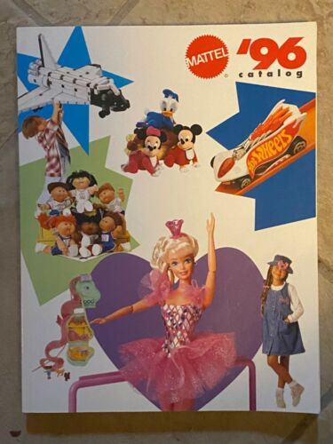 Mattel 1996 Toy Catalog Hot Wheels Disney Barbie Polly Pocket Cabbage Patch